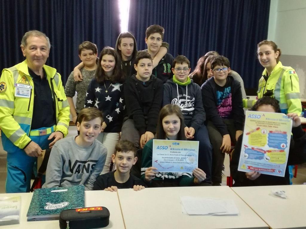 27 gennaio 2018 - 3A I.C. Scuola Secondaria di primo grado Anna Frank di Piancastagnaio (SI)